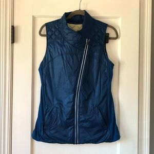 Lululemon What the Fluff reversible down vest